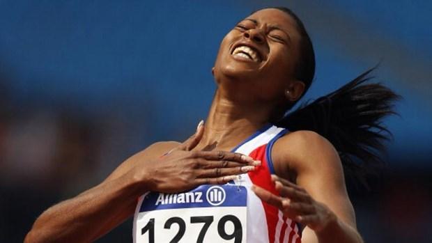 Nữ hoàng tốc độ khiếm thị Cuba Omara Durand. (Nguồn: paralympic.org)
