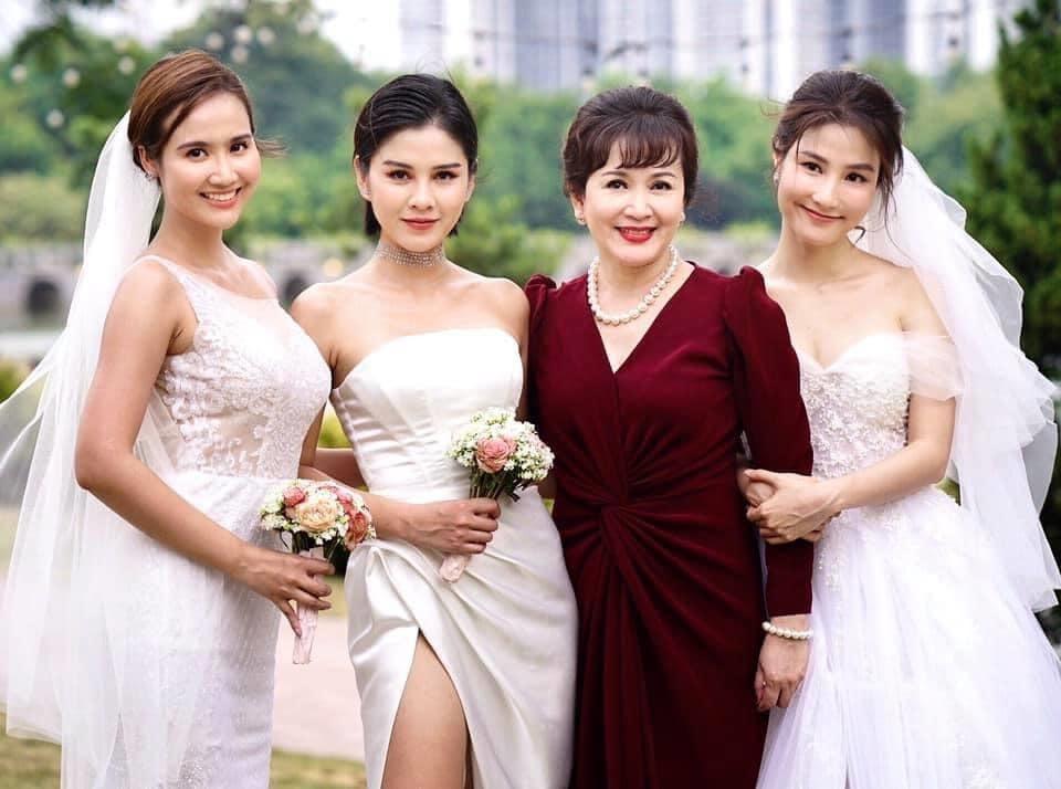 3 cô dâu của phim.