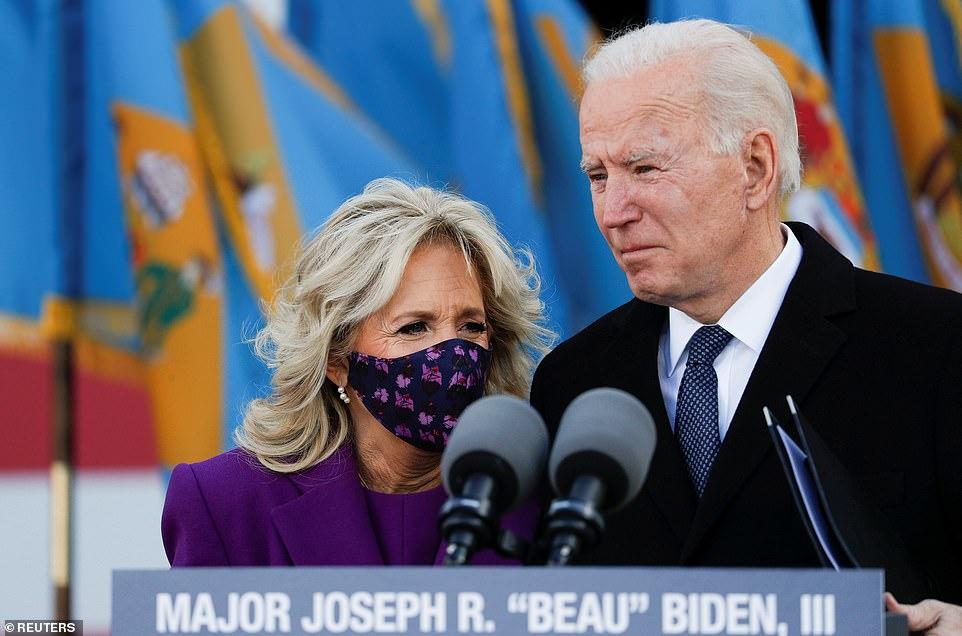 Tổng thống đắc cử Biden và vợ