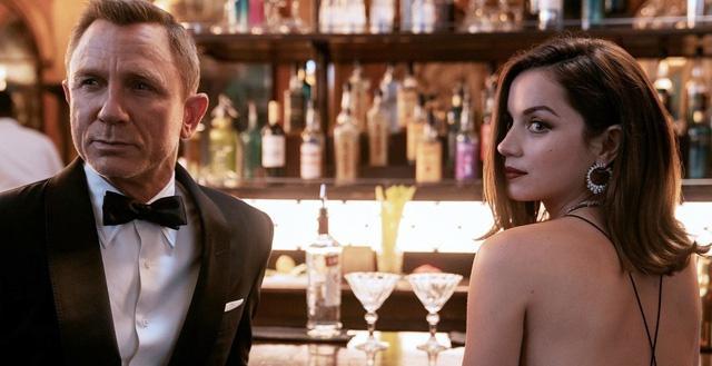No Time to Die đánh dấu màn tái ngộ của Daniel Craig và Ana de Armas