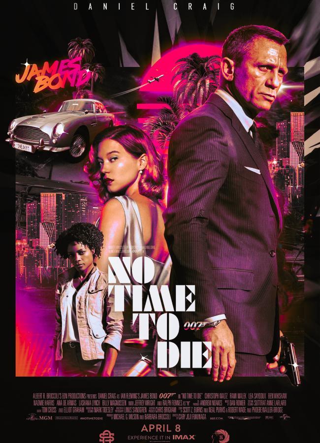 Poster phần mới phim James Bond.