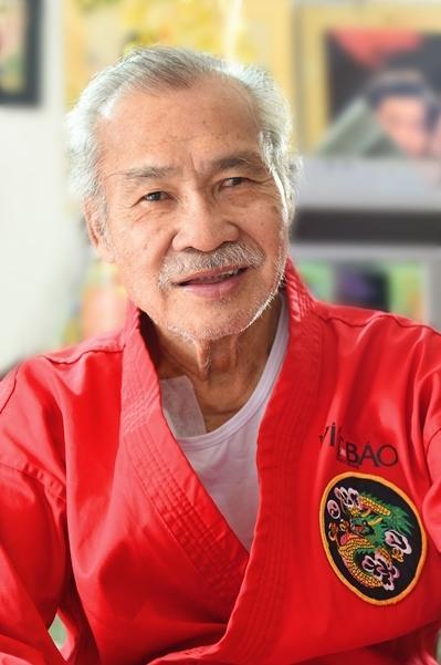 Nghệ sĩ Nhân dân - võ sư Lý Huỳnh.