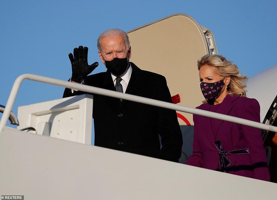 Vợ chồng Tổng thống đắc cử