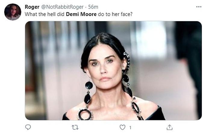 Minh tinh Demi Moore gây sốc với gương mặt khác lạ - Ảnh 5.