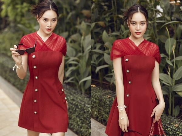 Ninh Dương Lan Ngọc nhẹ nhàng trong thiết kế của Lê Thanh Hòa
