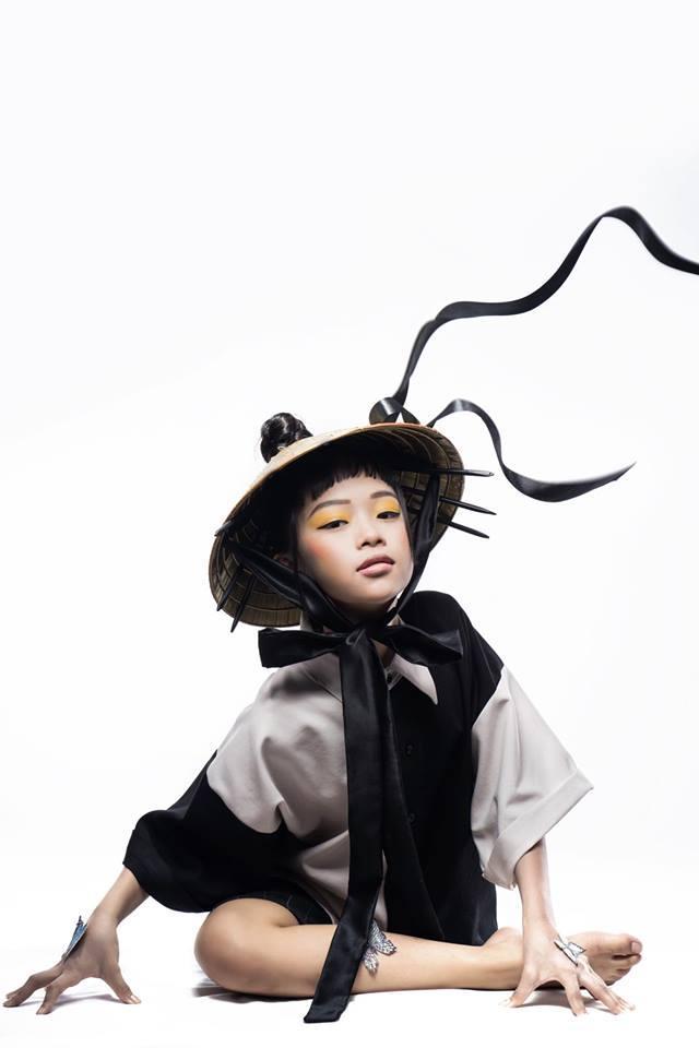 Minh Anh với thần thái sắc lạnh trong bộ ảnh Beauty