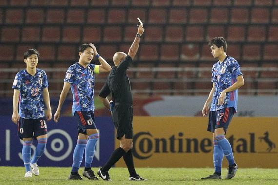 U23 Nhật Bản bất ngờ bị loại từ rất sớm. Ảnh: AFC