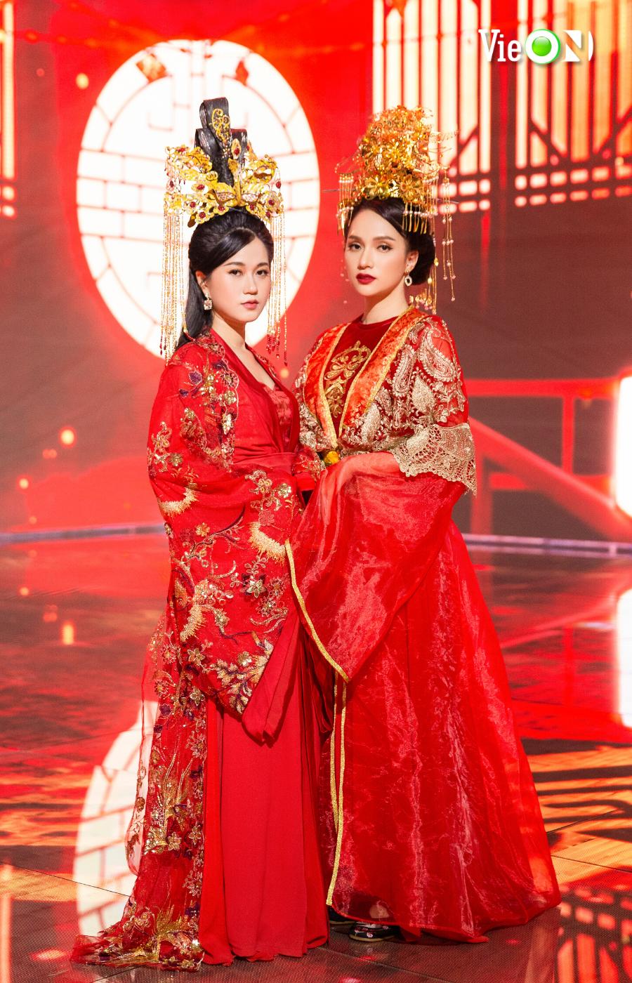 Hương Giang và Lâm Vỹ Dạ