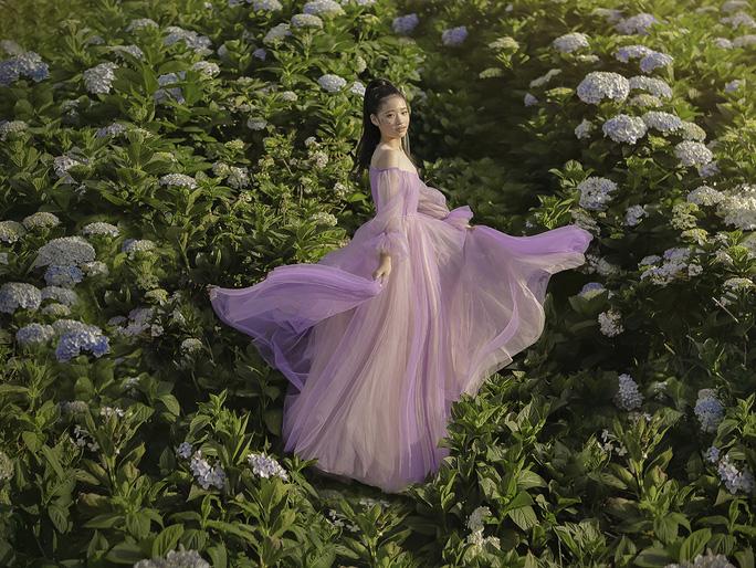 Mẫu nhí Bảo Hà hóa công chúa trong rừng - Ảnh 13.