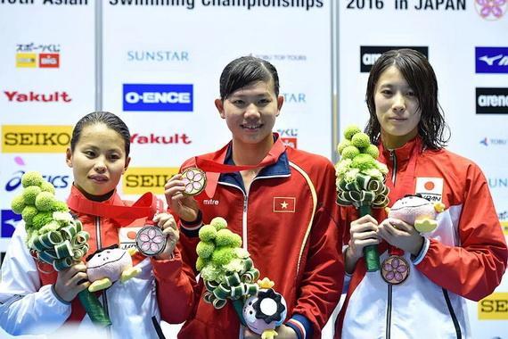 """Bơi tiếp tục là niềm hy vọng """"Vàng"""" của Thể thao Việt Nam"""