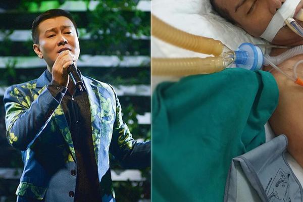 Ca sĩ Tuấn Phương phát hiện lao màng não, đã mổ thành công