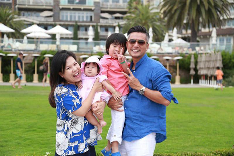 Các sao nam nổi tiếng hạnh phúc ngọt ngào khi lấy vợ Việt kiều