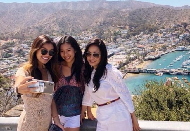 2 con gái xinh đẹp, kín tiếng của Quang Minh - Hồng Đào