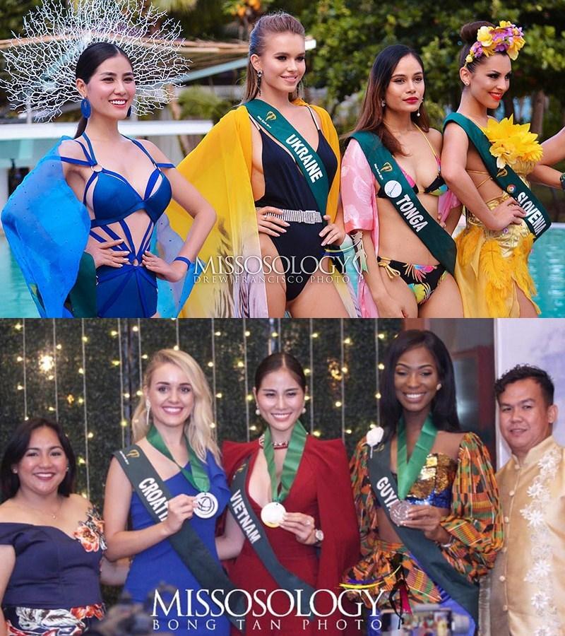 Nhan sắc Việt thăng hoa nhưng vẫn tụt hạng ở đấu trường quốc tế 2019
