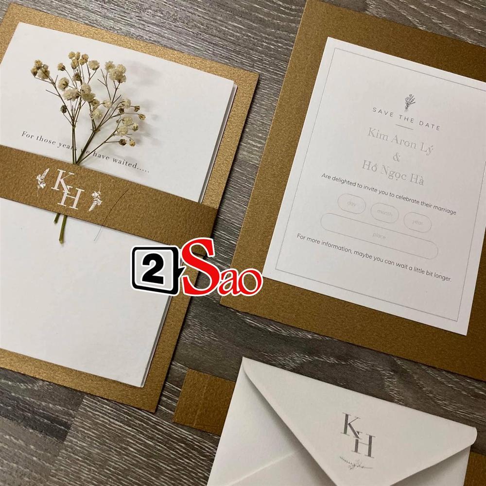 Rò rỉ thiệp cưới sang trọng của Kim Lý - Hồ Ngọc Hà?-2