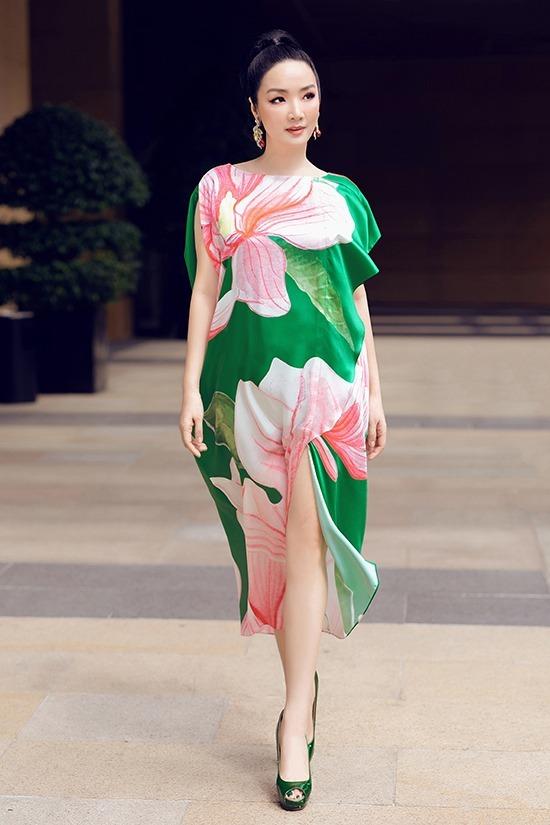 Hoa hậu Đền Hùng Giáng My trở lại sàn catwalk sau 10 năm