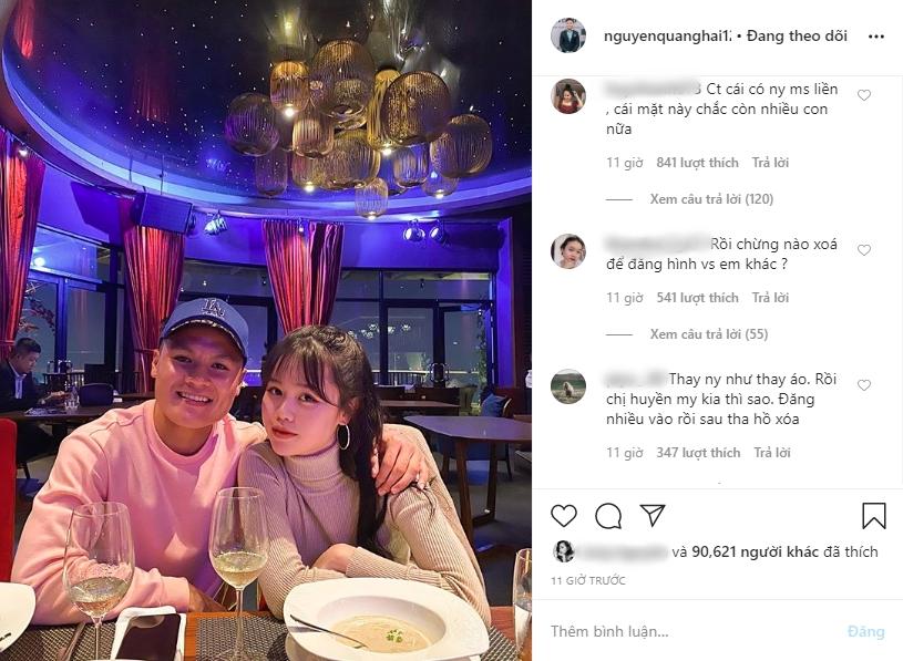 Quang Hải lộ bằng chứng hẹn hò người yêu mới Huỳnh Anh khi vẫn đang nhập nhằng với Nhật Lê-2