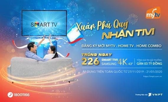 MyTV tung ra chương trình khuyến mại hấp dẫn cuối năm