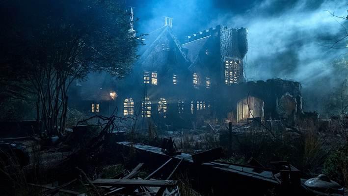 Căn nhà Hill House đã làm tan nát gia đình Crane.