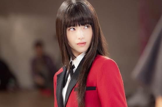 Diễn xuất và nhan sắc của Hamabe Minami trong phim Kakegurui đã chinh phục khán giả