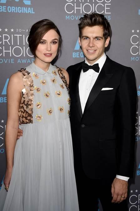 Keira Knightley và James Righton