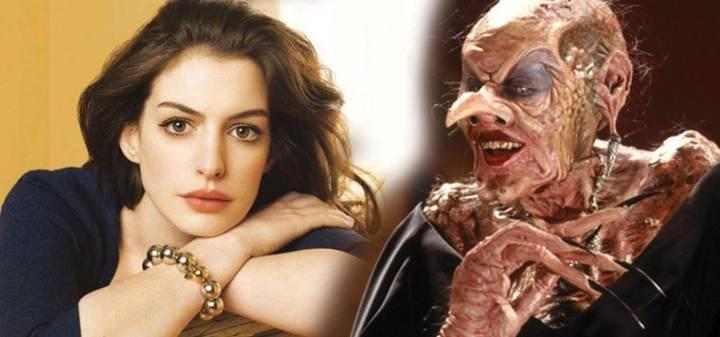 Anne Hathaway sẽ vào vai phù thủy Grand High đáng sợ