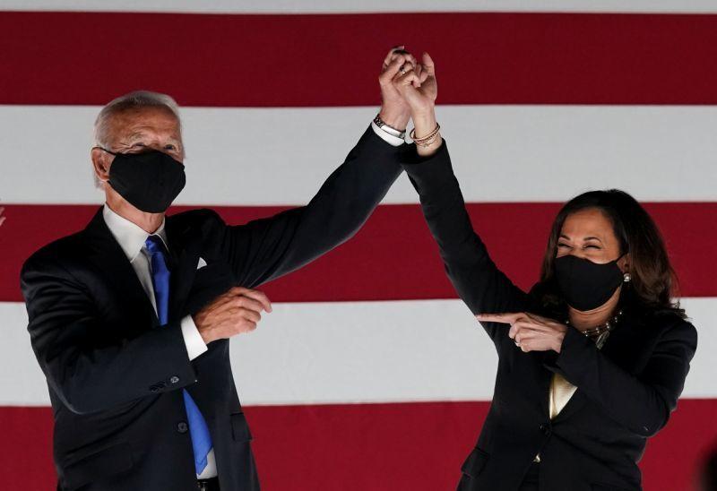 Sao Mỹ vỡ oà khi ông Biden thành Tổng thống Mỹ