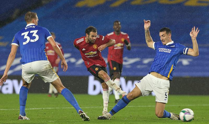 Mata tỏa sáng rực rỡ, MU đại thắng Brighton