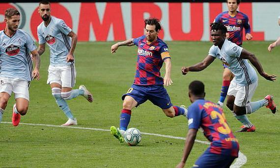 Messi 2 lần kiến tạo nhưng Barcelona vẫn bị cầm hòa