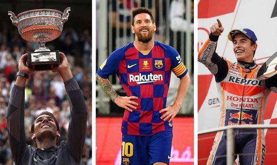 Messi sẽ phải cạnh tranh với nhiều VĐV Thể thao nổi tiếng khác