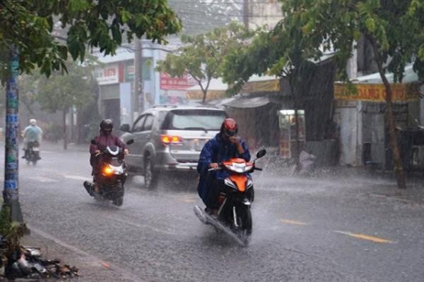 Dự báo thời tiết ngày 28/9: Mưa giông phủ khắp cả nước