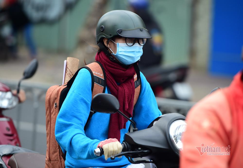 Người Sài Gòn co ro trong cái lạnh 20 độ C