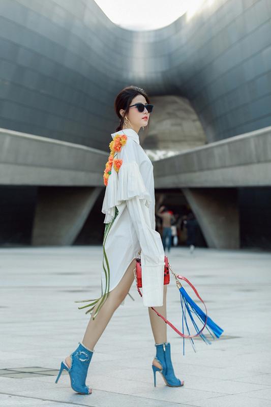 Phong cách thời trang khoẻ khoắn, tinh tế của Diễm My 9X