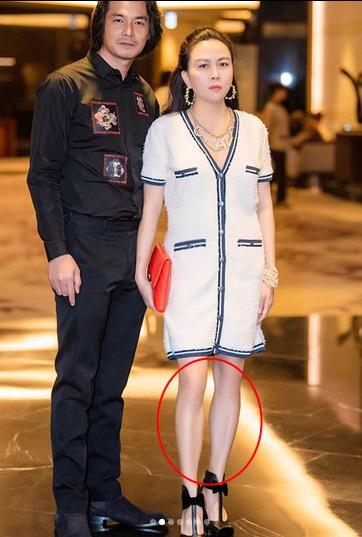 Phượng Chanel bị bóc mẽ photoshop da trắng toát, đầu gối biến mất-6