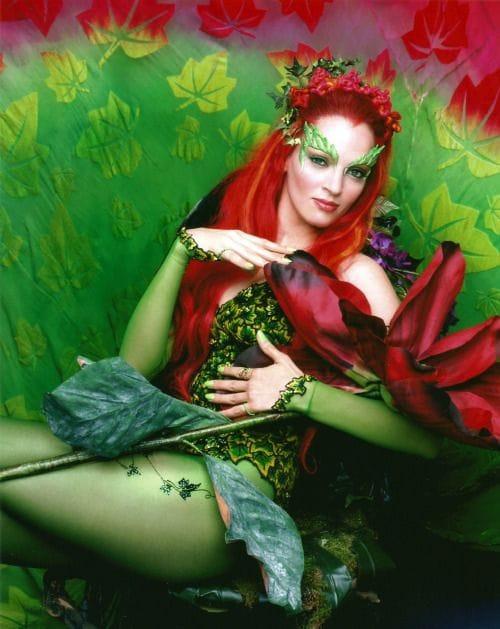 """Mỹ nhân Uma Thurman vào vai Poison Ivy trong bộ phim """"Batman & Robin"""" (1997)"""
