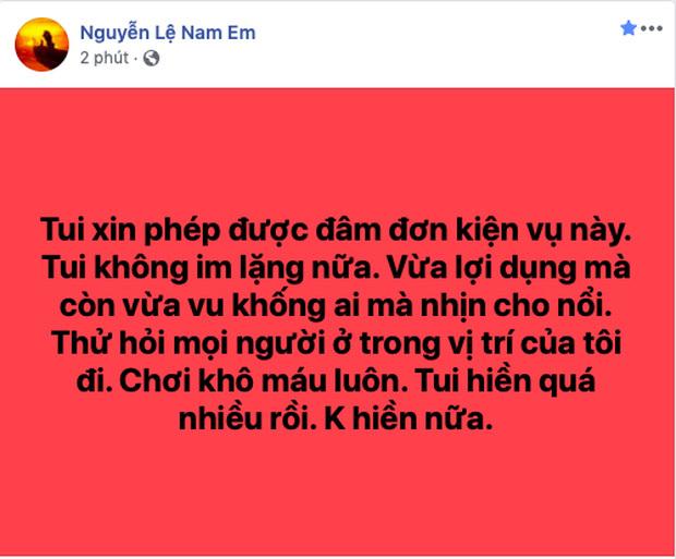 Sao Việt bị đồn là tiểu tam người phản ứng gay gắt, kẻ dọa đâm đơn kiện