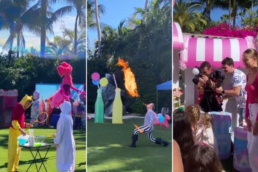 Tỷ phú tổ chức tiệc sinh nhật 50.000 USD cho con gái 4 tuổi
