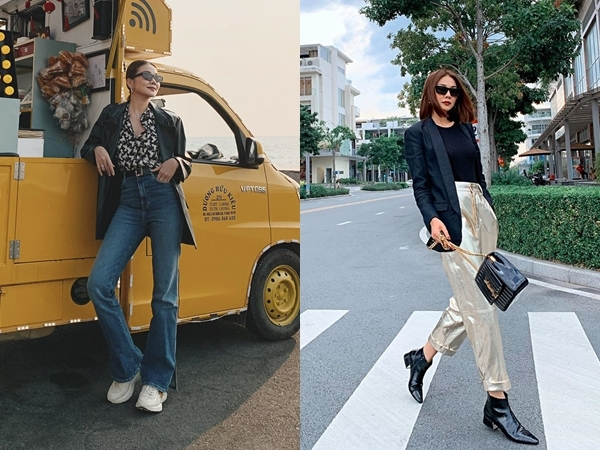 Phong cách tôn chân dài 1,12m, eo 51cm của Thanh Hằng