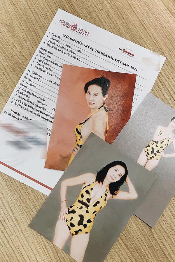 Thí sinh 59 tuổi gây tranh cãi khi đăng ký thi Hoa hậu Việt Nam 2020