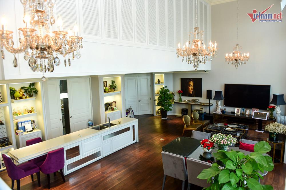 Ngắm Penthouse 300m2 của Trương Ngọc Ánh sống cùng con gái