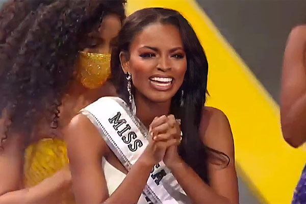 Con gái của một tù nhân trở thành tân Hoa hậu Mỹ 2020