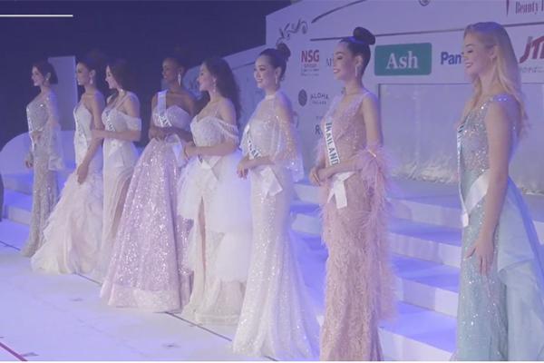Tường San thắng giải Trang phục dân tộc, vào Top 8 tại Hoa hậu Quốc tế 2019