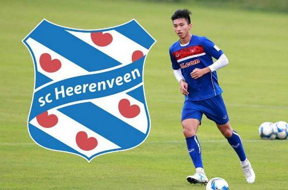 Văn Hậu sẽ có cơ hội thi đấu cho đội 1 của CLB HeerenveenVăn Hậu được CLB Heerenveen