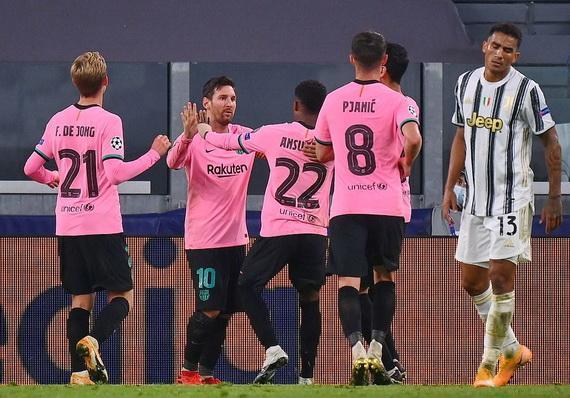Barcelona giành chiến thắng quan trọng trước Juventus