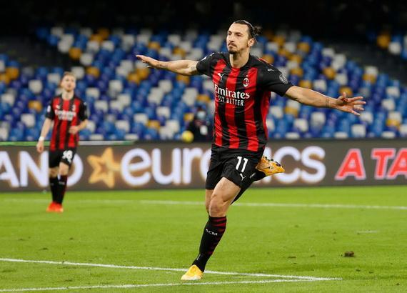 Ibrahimovic  đang thăng hoa trong màu áo AC Milan