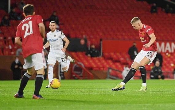 McTominay lập cú đúp cho Man Utd chỉ sau 3 phút thi đấu
