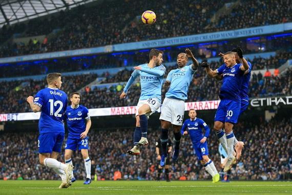 Trận Everton và Man City đã bị hoãn lại vô thời hạn