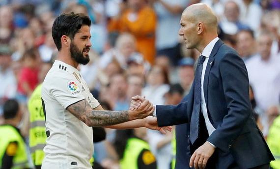 HLV Zidane không muốn Isco ra đi vào thời điểm này