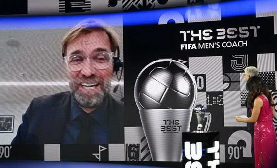 HLV Klopp không tin mình đoạt giải của FIFA!