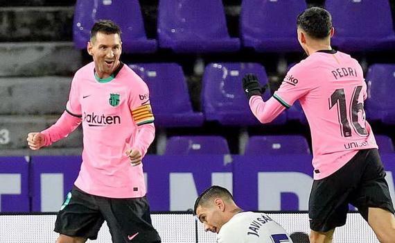 Messi đã phá kỷ lục ghi bàn của huyền thoại Pele